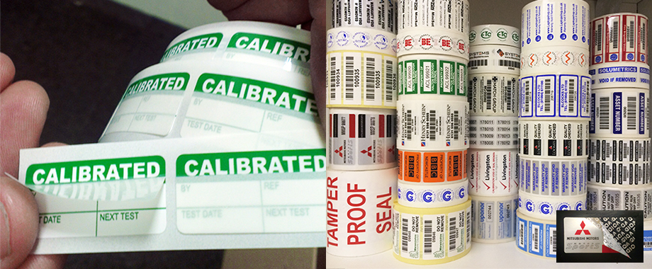 Calibration and Asset Labels